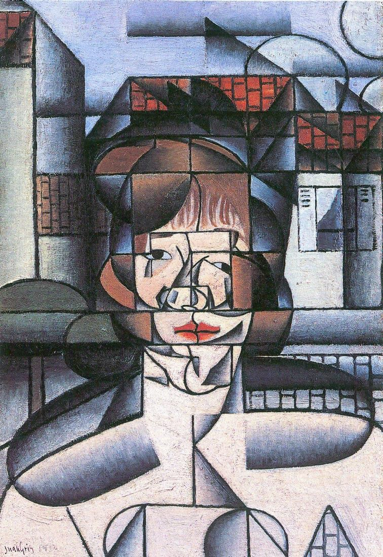 Portrait of Madame Germaine Raynal [1] - Juan Gris